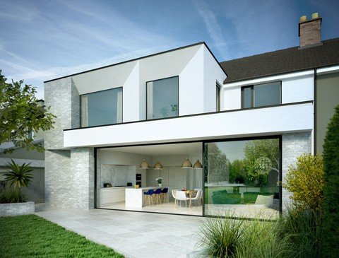 Residential reconstruction, Churchtown, South Dublin